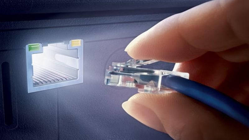как подключить интернет розетку