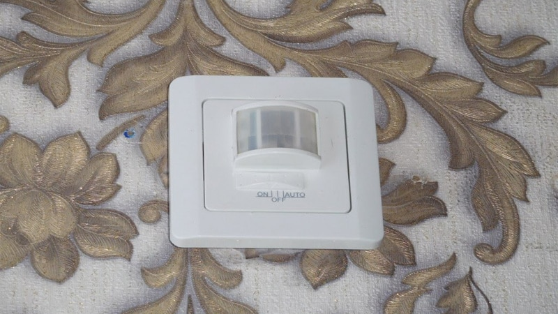 инфракрасные датчики движения для включения света