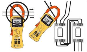 Измерение на одном проводнике