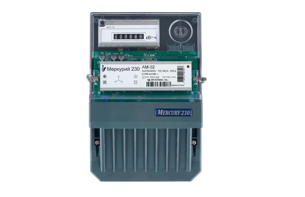 INCOTEX Меркурий 230 АМ-02 10(100) А