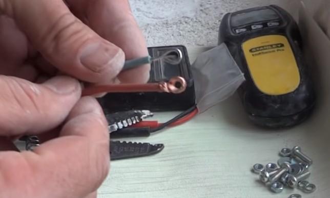 Кольца на алюминиевом и медном проводе