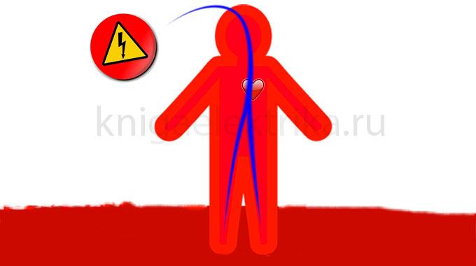 петля электрического тока голова - ноги