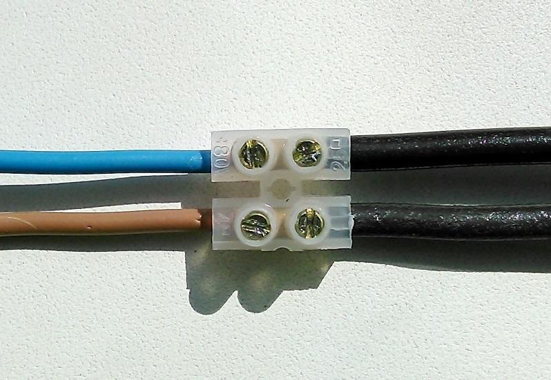 4 провода в клеммнике