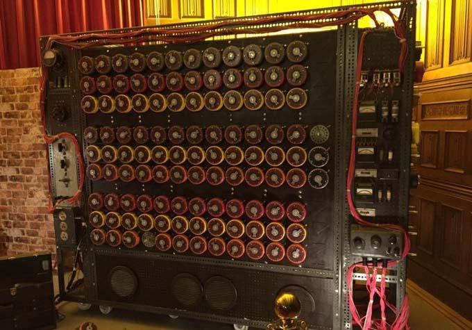 первый компьютер который расшифровал энигму