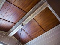 Как правильно установить ХДМ на потолок?