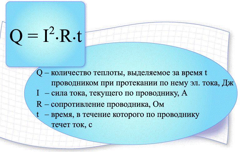 Количество теплоты: формула, электричество